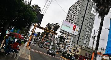 Calles de Lima en horas de la tarde