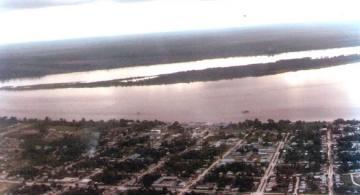 Vista aérea de Leticia año 80