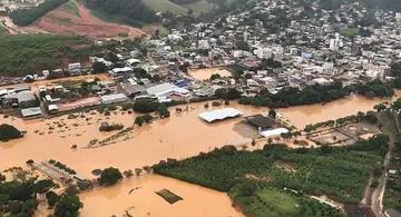 image for 47 ciudades de Brasil en emergencia por lluvias