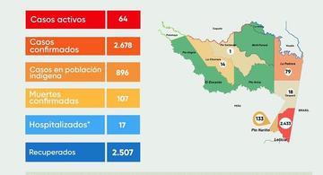 image for Reporte situacional de Covid-19 en la región