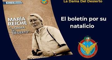 image for Fuerza Aérea Peruana Conmemoramos el natalicio de María Reiche Neumann