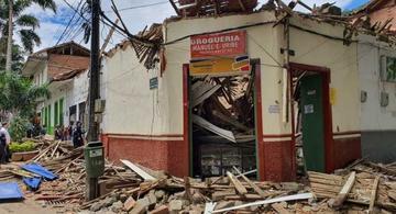 image for Desplome de techo dejó cinco personas lesionadas | Ciudad Bolívar