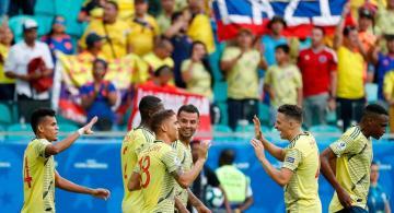 image for Colombia derrota a Paraguay y espera su rival en cuartos