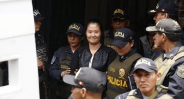 image for Keiko Fujimori regresa a la cárcel