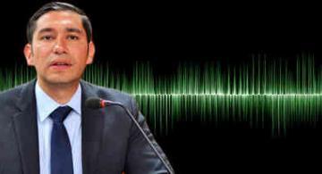 Exfiscal anticorrupción Luis Gustavo Moreno en una foto montaje