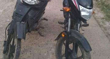 image for Policiais militares apreendem motocicletas roubadas