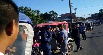 image for Menor lesiones por despiste de mototaxi