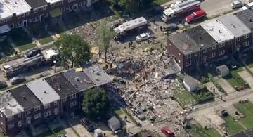image for Explosión en Baltimore destruye tres edificios residenciales