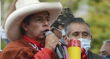 image for Pedro Castillo inicia campaña para la segunda vuelta