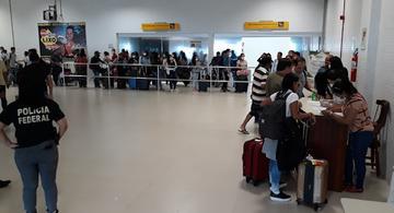 image for Reforça medidas de combate à pandemia do Covid-19 em aeroporto