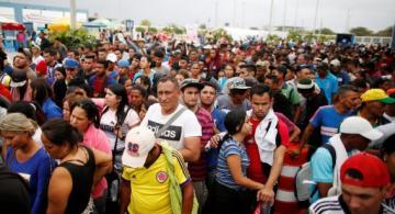 Personas en multitud