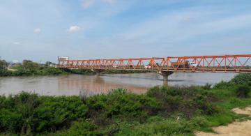 Puente el rio Tumbes