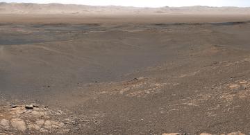 image for NASA capturó la imagen panorámica de mayor resolución de la superficie de Marte