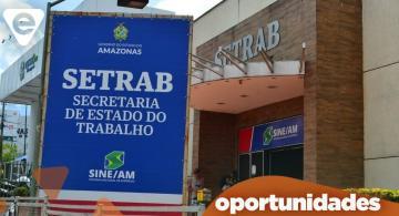 image for Sine Amazonas divulga 48 vagas de emprego em diversas áreas