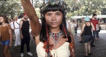 image for Povos indígenas realizaram manifestação contra as políticas anti-indigenistas do Bolsonaro