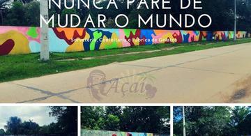 image for Sorveteria revitaliza muro público para melhorar ambiente