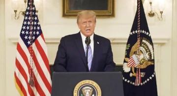 image for Trump envía su primer tuit tras levantarse la suspensión de su cuenta