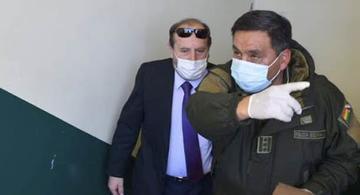 image for Ministro de salud de Bolivia arrestado por escándalo respiradores
