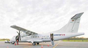 image for Primer vuelo piloto de pasajeros entre Bucaramanga y Cúcuta