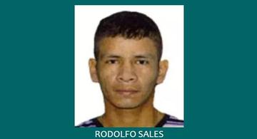 image for Rodolfo Sales Ramos uno de los más buscados en el Amazonas