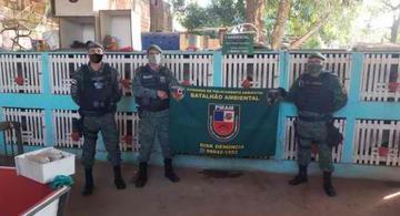 image for Polícia Militar desmonta rinha de galos