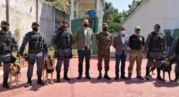 image for Visita da comitiva da Secretaria Nacional de Segurança Pública