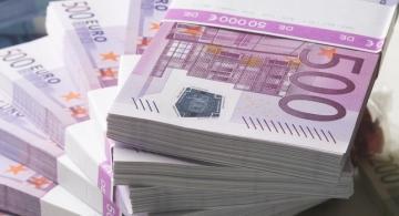 Fajos de billetes de 500 euros