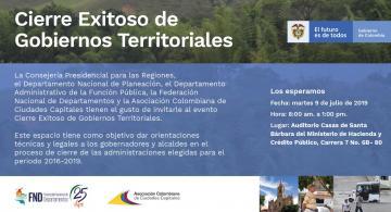 image for Alcaldes y Gobernadores trabajan con el Gobierno Nacional