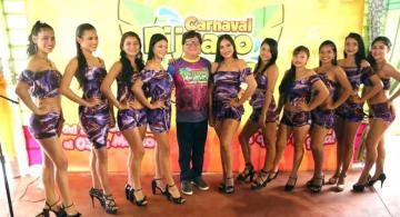 Candidatas al Miss Carnaval Pijuayo Pacucho 2019