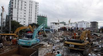 image for Derrumbe de edificio en Camboya deja al menos 17 muertos