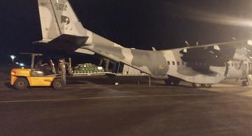 image for Desembarcaram no Aeroporto 50 cilindros de oxigênio