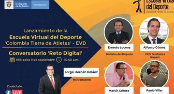 image for Mindeporte presentará la Escuela Virtual del Deporte