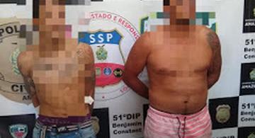 image for Polícia captura bandidos em Benjamin Constant