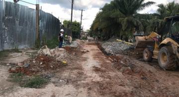 image for Obras en diferentes calles de Leticia