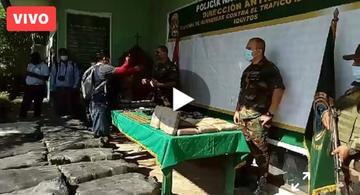 image for Incautación de una tonelada de droga en zona de Huamán