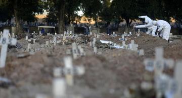 image for Brasil atinge marca de 200 mil mortos desde o início da pandemia