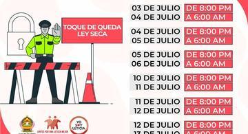 image for Toque de Queda y Ley Seca para Leticia