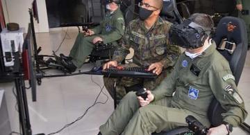 image for Dispositivos de Treinamento de Voo baseados em Realidade Virtual