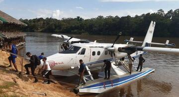 image for Operaciones de búsqueda y rescate tras el accidente ocurrido en el río Huallaga