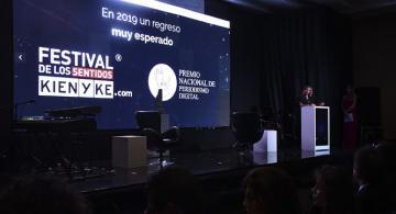 Adriana Bernal presidente de Kienyke en conferencia