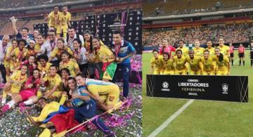 Imagenes de jugadoras de futbol femenino en un estadio