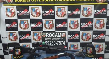 image for ROCAM apreendem quatro armas de fogo após mortes por intervenção policial