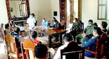image for MDSJB participó en reunión con autoridades civiles y militares