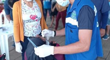 image for Benjamin Constant faz testagem em massa de pessoas vindo do município peruano Islândia