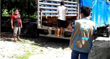 image for Vehículo fue intervenido durante operativo en la carretera Iquitos Nauta