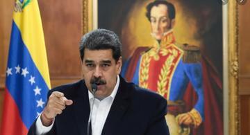 Presidente Maduro en publico