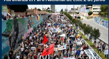 image for Miércoles / Así avanza el Paro Nacional de este 2 de junio