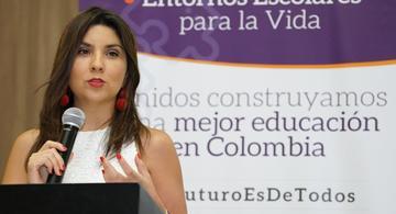 image for  Ministra de Educación / No es una obligación enviar a sus hijos a clases presenciales