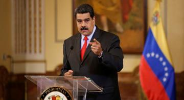 Nicolas Maduro en discurso