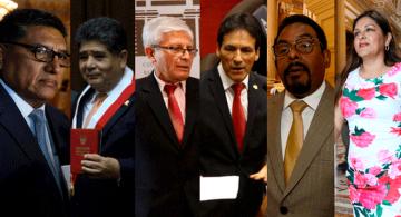 Personas del gobierno en una sola foto